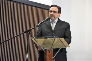 Intervención del Arq. Fernando Pauta C., PhD, Coordinador Académico del XI SNDU y PT, y X Congreso Internacional de OT y Ecológico